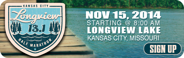 Longview Lake Half Marathon on 1416009600